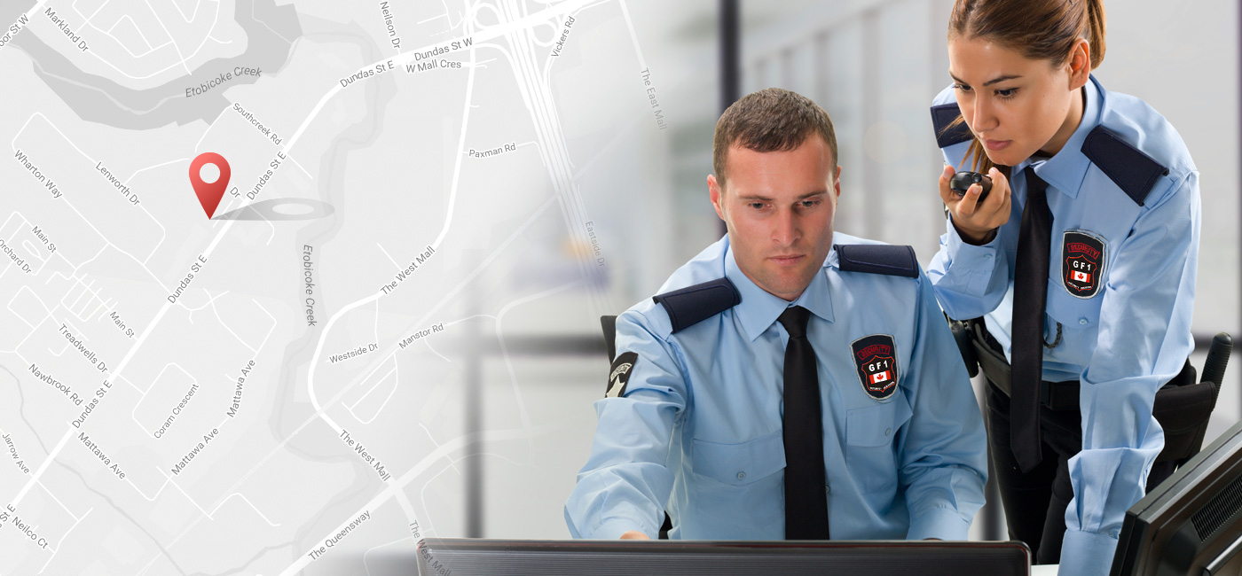 New Location – Choose GF1 Security Services, Brampton & Mississauga Ontario